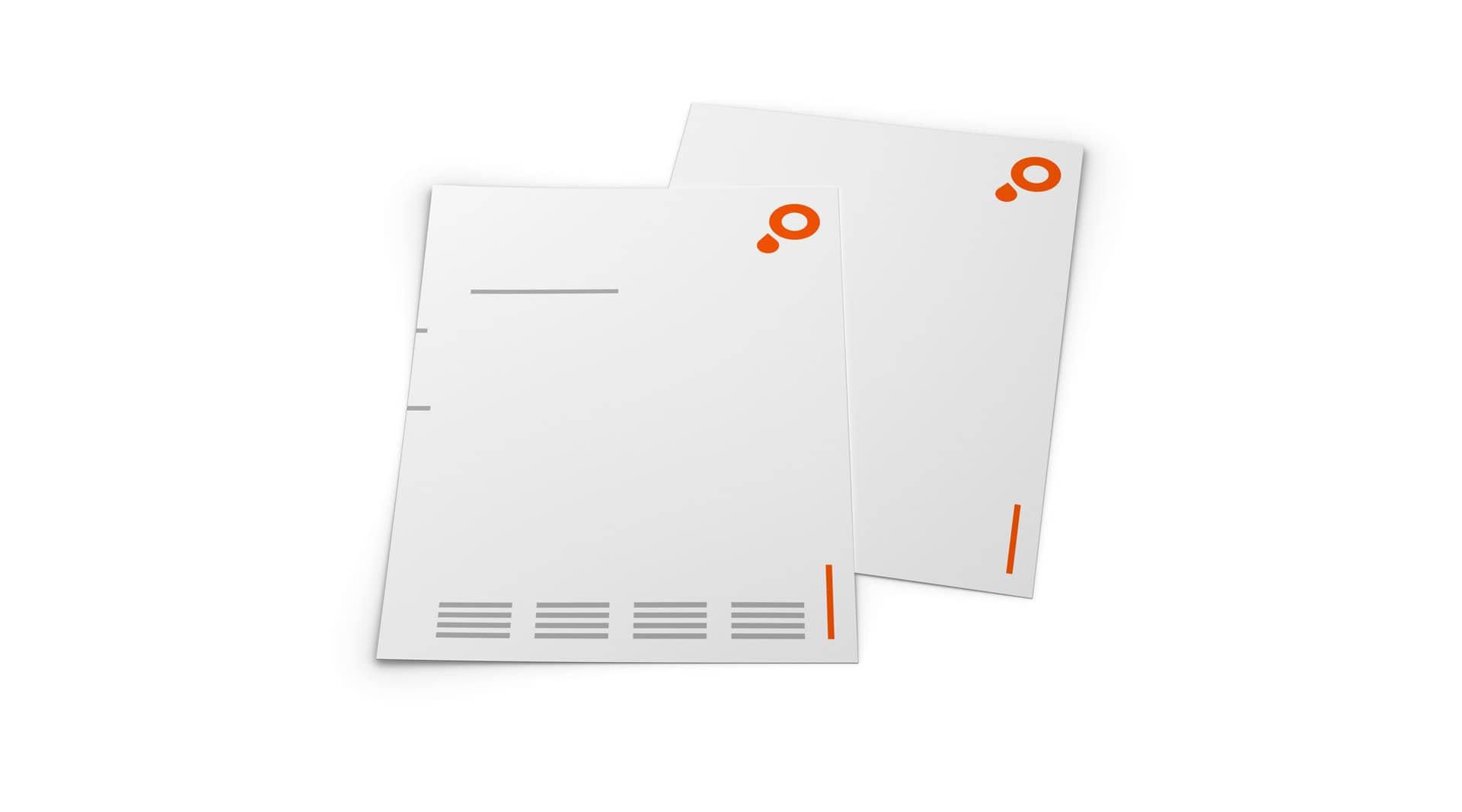 Saxoprint Briefpapier und Bögen