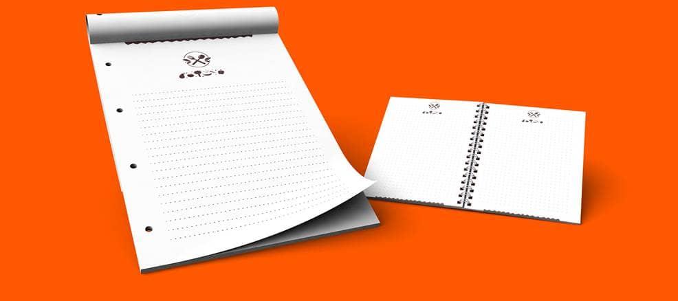 Schreibblöcke Günstig Drucken Schreibtischunterlagen