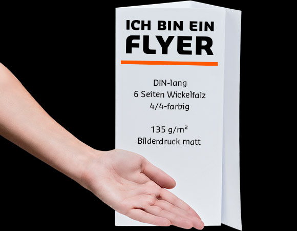 wickelfalz flyer g nstig drucken saxoprint. Black Bedroom Furniture Sets. Home Design Ideas