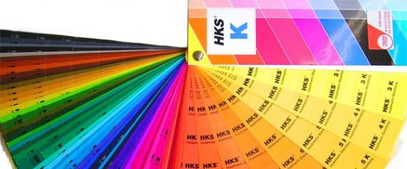 HKS Farbtabelle mit Sonderfarben
