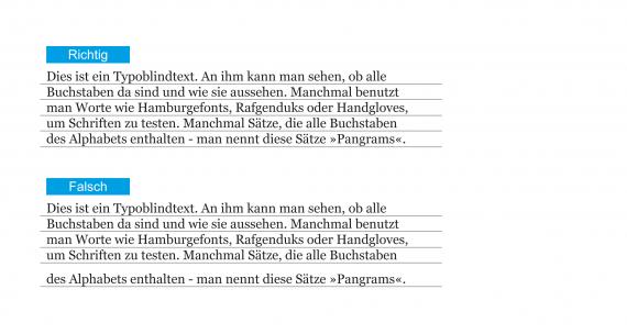 Typografie Tipp #4 - Vertikale Ausrichtung der Fonts im Layout