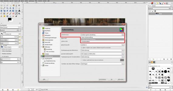 ICC Profile laden GIMP (Step 6)