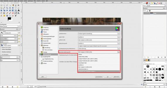 ICC Profile laden GIMP (Step 8)