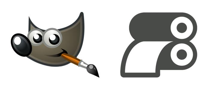Druckdaten anlegen mit GIMP