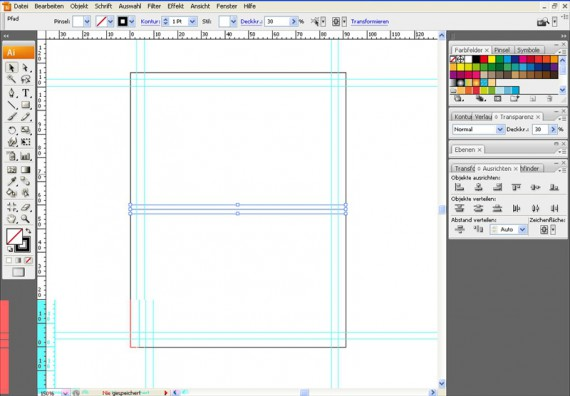 Illustrator Tutorial: Tischkarten (2)