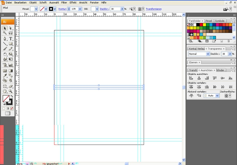 Tutorial: Tischkarten in Illustrator » SAXOPRINT Blog