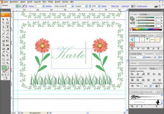 Illustrator Tutorial: Tischkarten (8)