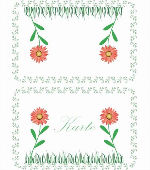 Illustrator Tutorial: Tischkarten