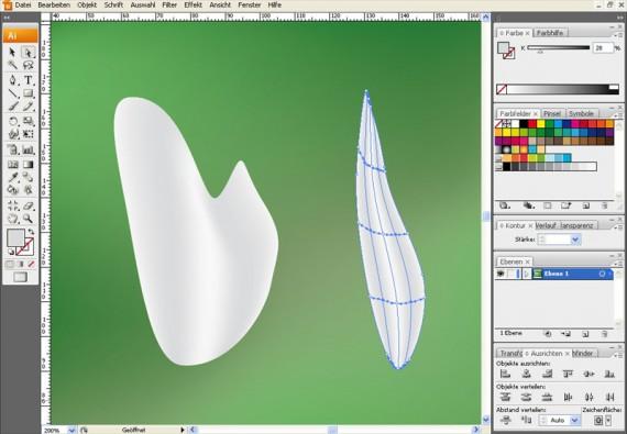 Illustrator Tutorial: Verlaufsgitter (6)