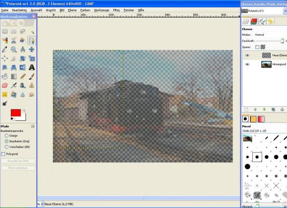 Schritt 3 - Tutorial Polaroid