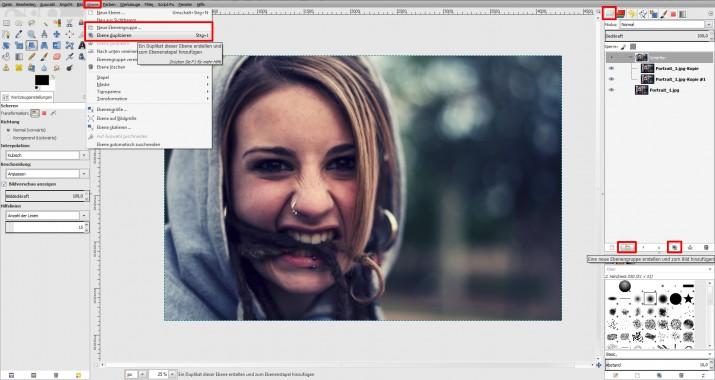 unscharfes Bild schärfen und in GIMP scharfzeichnen (01)