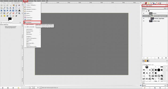 unscharfes Bild schärfen und in GIMP scharfzeichnen (02)