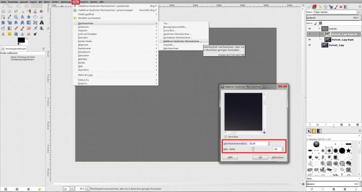 unscharfes Bild schärfen und in GIMP scharfzeichnen (03)