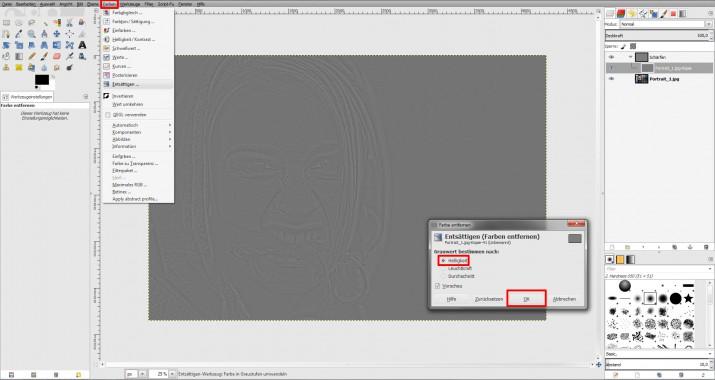 unscharfes Bild schärfen und in GIMP scharfzeichnen (04)