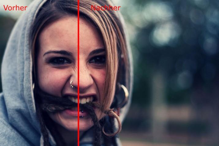 unscharfes Bild schärfen und in GIMP scharfzeichnen (fertig)