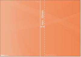 Broschüren mit Perforationslinien anlegen