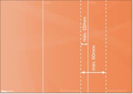 Folder mit Perforationslinien anlegen