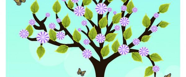 Freitagstutorial: Frühlingskarte mit Illustrator