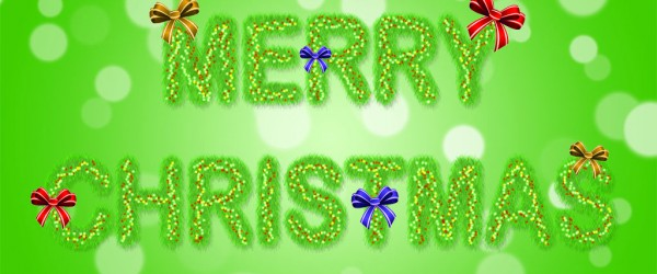 Freitagstutorial: Weihnachtsschrift in Photoshop