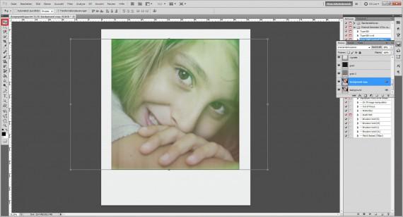 Tutorial: Polaroid-Foto-Effekt (Aktionen) im Adobe Photoshop (5)