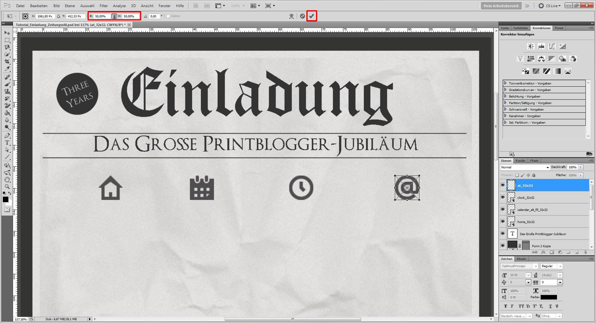 Tutorial: Einladung im Zeitungsstil gestalten » Saxoprint-Blog