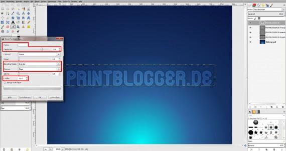 Freitagstutorial: Seifenblasentext in Gimp (8)