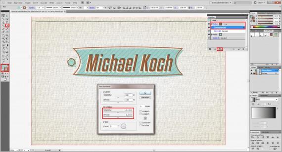 Freitagstutorial: Retro-Visitenkarte in Adobe Illustrator (13)