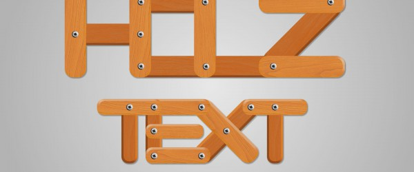 Freitagstutorial: Holz – Texteffekt in GIMP