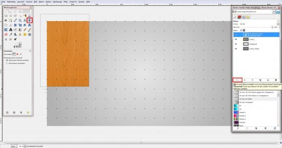 Freitagstutorial: Holz – Texteffekt in GIMP (8)