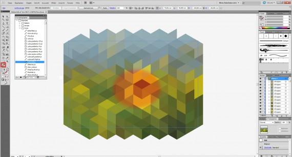 Freitagstutorial: Bildzerfall in Illustrator (6)