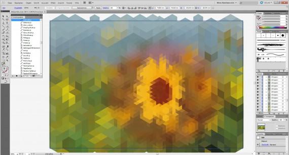 Freitagstutorial: Bildzerfall in Illustrator (8)