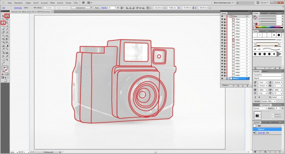 Freitagstutorial: Foto-Skizze in Adobe Illustrator (4)