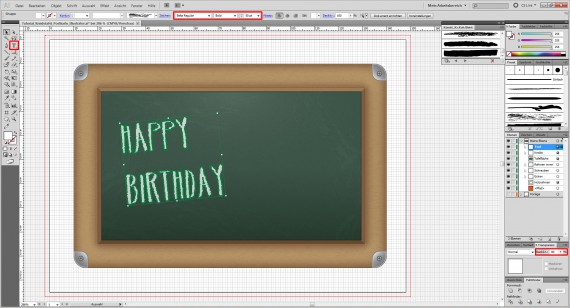Freitagstutorial: Kreidetafel-Postkarte in Adobe Illustrator (30)