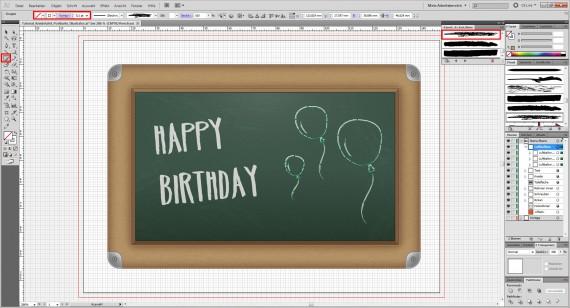 Freitagstutorial: Kreidetafel-Postkarte in Adobe Illustrator (31)