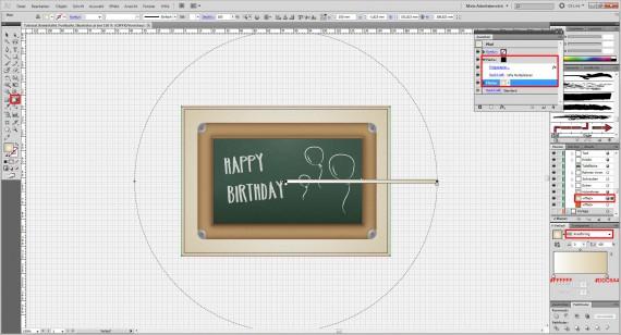 Freitagstutorial: Kreidetafel-Postkarte in Adobe Illustrator (32)