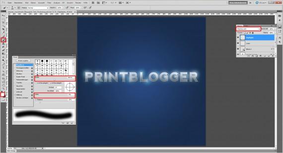 Freitagstutorial: Blaupapier-Texteffekt (11)