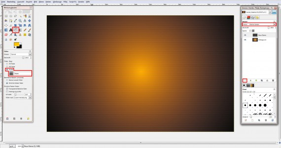QuickTipp: Metall-Texteffekt in GIMP (2)