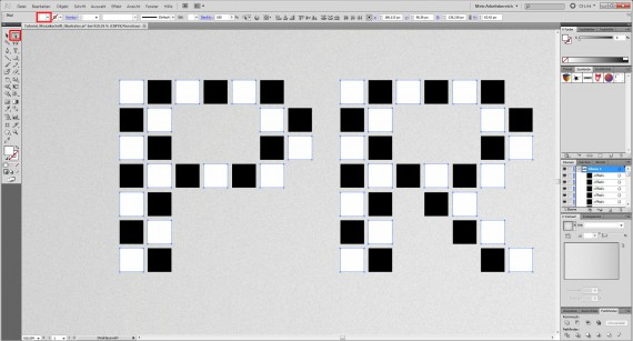 Freitagstutorial: Mosaik-Schrift in Adobe Illustrator (6)