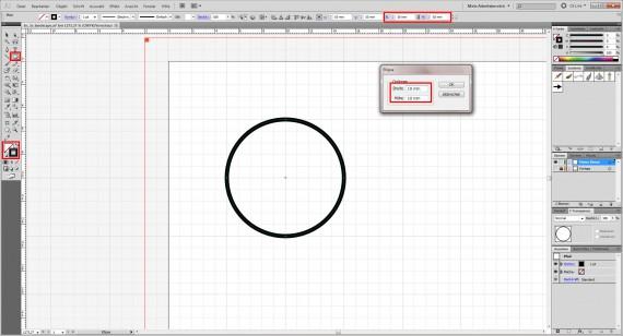 Freitagstutorial: Muster-Visitenkarte in Adobe Illustrator (3)