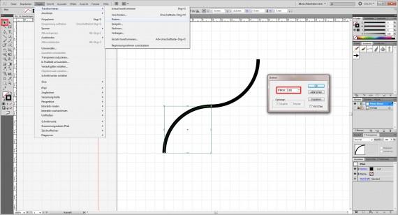 Freitagstutorial: Muster-Visitenkarte in Adobe Illustrator (5)