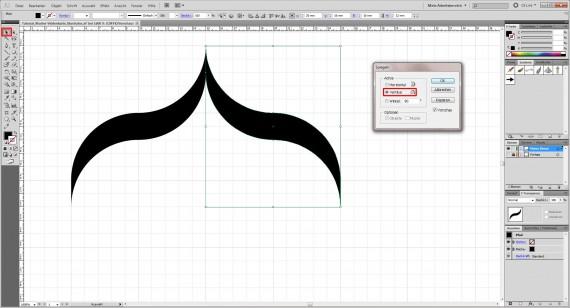 Freitagstutorial: Muster-Visitenkarte in Adobe Illustrator (9)