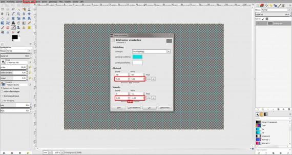 Freitagstutorial: Muster-Visitenkarte in GIMP (1)