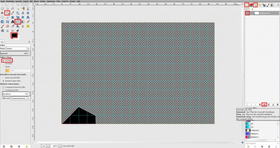 Freitagstutorial: Muster-Visitenkarte in GIMP (2)