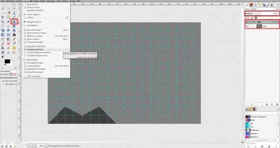 Freitagstutorial: Muster-Visitenkarte in GIMP (3)
