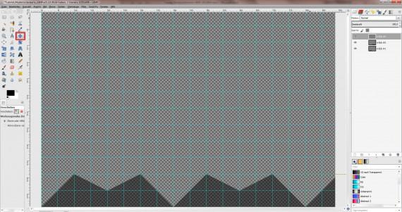 Freitagstutorial: Muster-Visitenkarte in GIMP (4)
