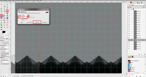Freitagstutorial: Muster-Visitenkarte in GIMP (6)