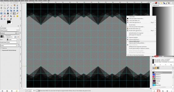 Freitagstutorial: Muster-Visitenkarte in GIMP (8)