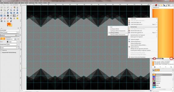 Freitagstutorial: Muster-Visitenkarte in GIMP (9)