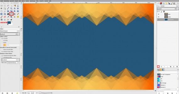 Freitagstutorial: Muster-Visitenkarte in GIMP (11)