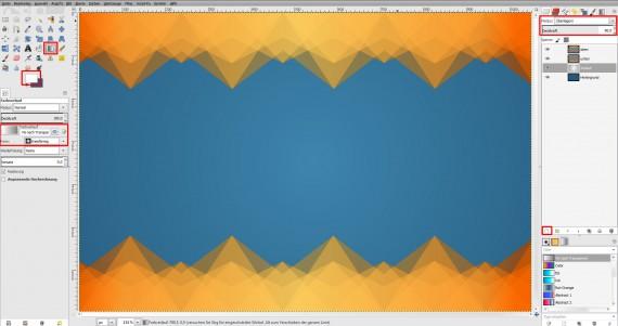 Freitagstutorial: Muster-Visitenkarte in GIMP (12)